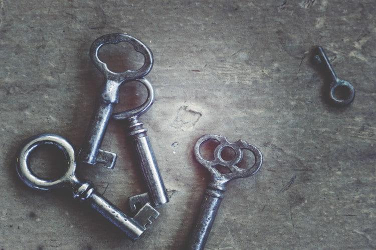 Comment faire sans la clé?